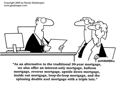cartoon mortgage