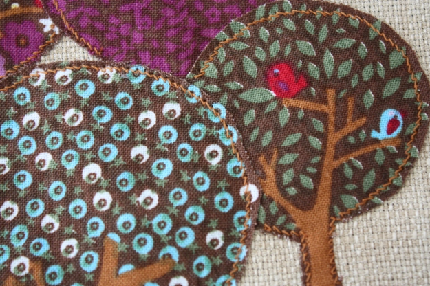 10 tree sewn