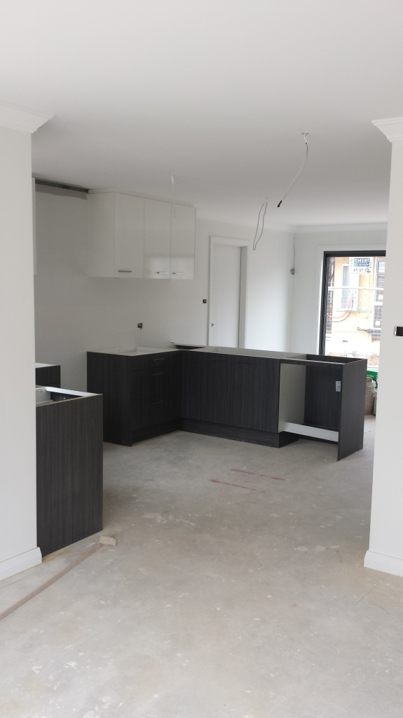 Kitchen- viewed from leisure room